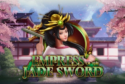 Empress of the Jade Sword Mobile Slot Logo