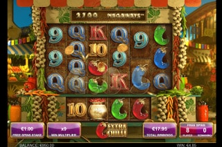 Extra Chilli Mobile Slot Free Games