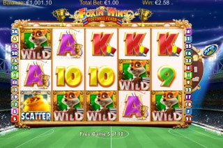 Foxin Wins Football Fever Mobile Slot Free Spins