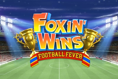 Foxin Wins Football Fever Mobile Slot Logo