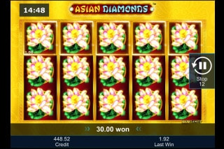 Greentube Asian Diamonds Slot Win