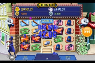 Keystone Kops Mobile Slot Machine