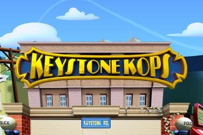 Keystone Kops Mobile Slot Logo