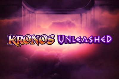 Kronos Unleashed Mobile Slot Logo