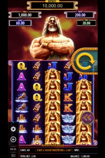 Kronos Unleashed Mobile Slot Machine