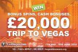 Win A £20K Trip To Vegas In The UK LeoVegas Casino Promo