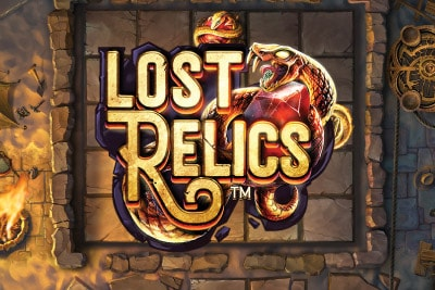 Lost Relics Mobile Slot Logo