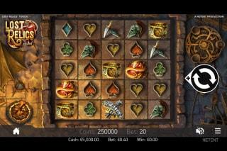 Lost Relics Mobile Slot Machine