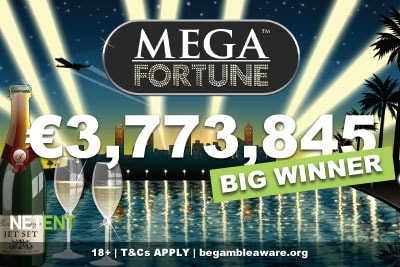 €3.7 Million NetEnt Mega Fortune Jackpot Win For Lucky Swede