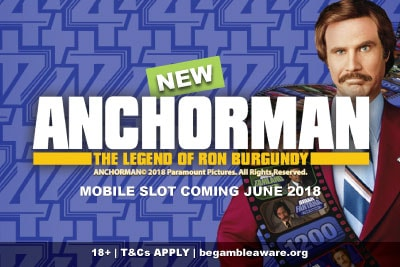 New Anchorman Mobile Slot Coming June 2018