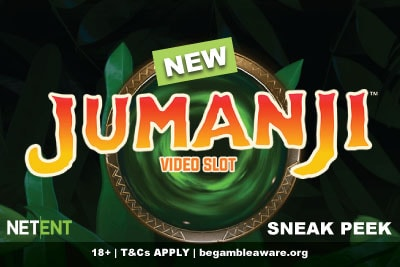New NetEnt Jumanji Slot Machine Preview