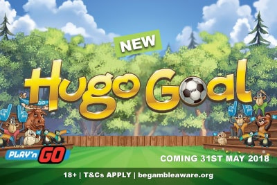 New Play'n GO Hugo Goal Mobile Slot Coming 31st May 2018
