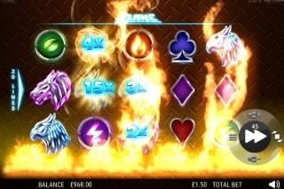 NextGen Flame Slot Bonus