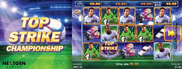 NextGen Top Strike Championship Slot Machine
