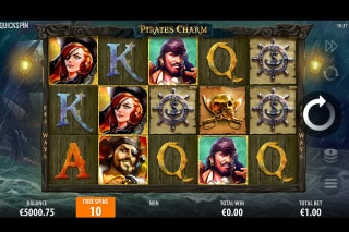 Pirates Charm Mobile Slot Free Spins