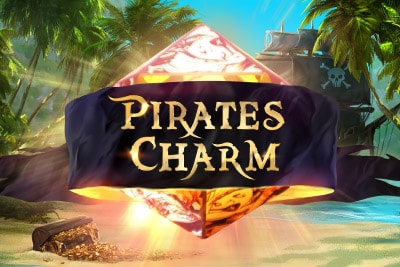 Pirates Charm Mobile Slot Logo