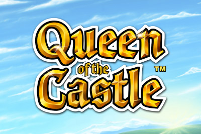 Queen of the Castle Mobile Slot Logo