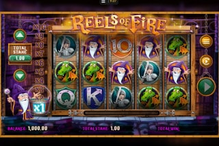 Reels of Fire Mobile Slot Machine