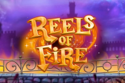 Reels of Fire Mobile Slot Logo