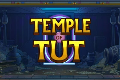 Temple of Tut Mobile Slot Logo