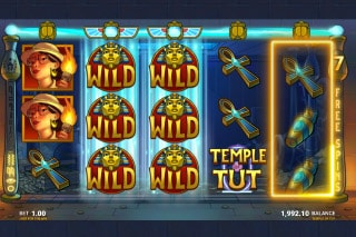 Temple of Tut Mobile Slot With Stacked Wilds