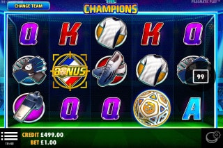 The Champions Mobile Slot Machine