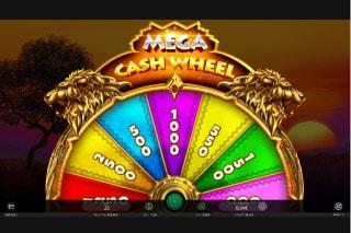 The King Slot Mega Cash Wheel