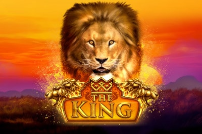 The King Mobile Slot Logo