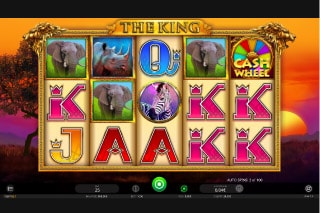 The King Mobile Slot Machine