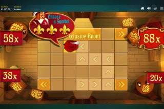 Three Musketeers Mobile Slot Bonus Round