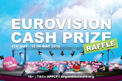 Win Cash Prizes In The Vera&John Eurovision Raffle