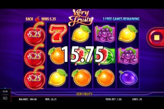 Very Fruity Mobile Slot Free Spins