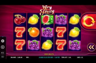 Very Fruity Mobile Slot Machine