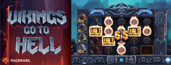 Yggdrasil Vikings Go To Hell Slot Machine on iPad