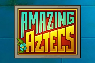 Amazing Aztecs Mobile Slot Logo