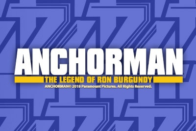 Anchorman Mobile Slot Logo