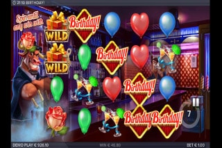 Birthday Slot Game With Wilds