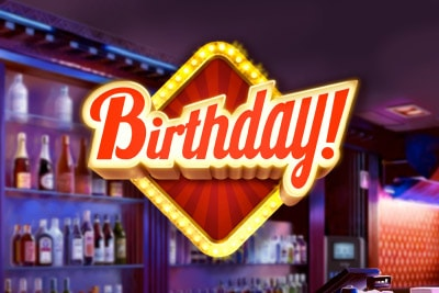 Birthday Mobile Slot Logo