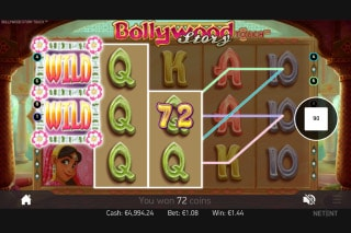 Bollywood Story Slot Wilds