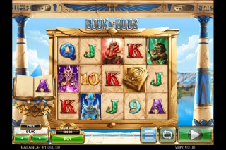 Book of Gods Mobile Slot Machine