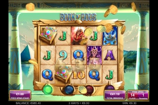 Book of Gods Slot Free Spins