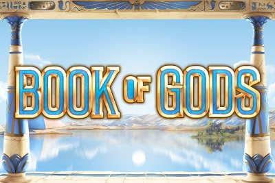 Book of Gods Mobile Slot Logo