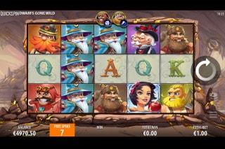 Dwarfs Gone Wild Slot Free Spins