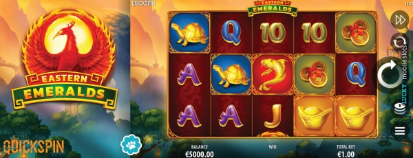 Eastern Emeralds Mobile Slot Game