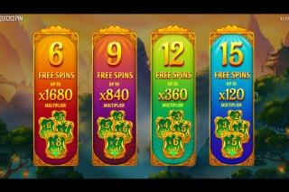 Eastern Emeralds Slot Free Spins Pick