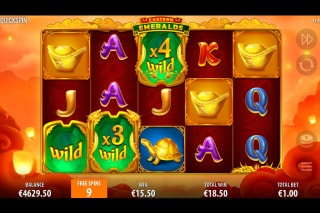 Eastern Emeralds Slot Free Spins With Wild Multipliers