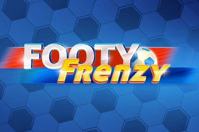 Footy Frenzy Mobile Slot Logo
