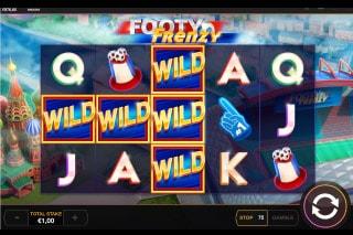 Footy Frenzy Slot Wild Win