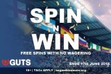 Win Guts Free Spins With No Wagering