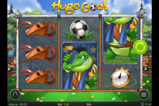 Hugo Goal Mobile Slot Machine